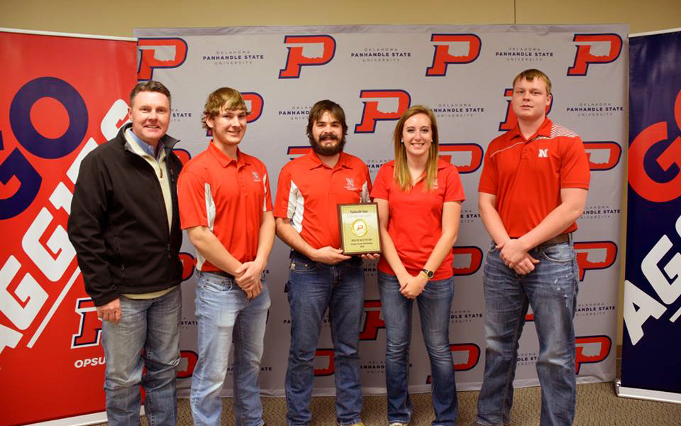 Nebraska Crops Judging Team