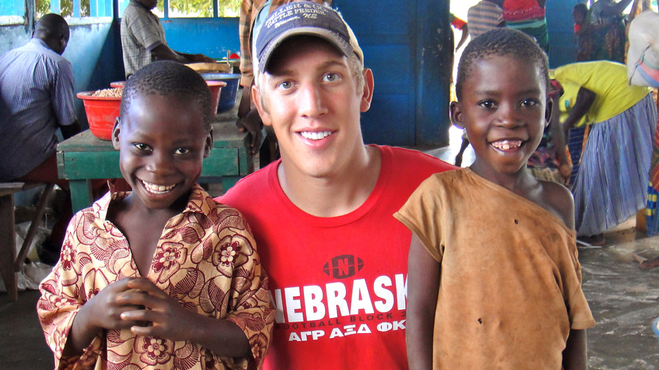 Bryce in Mozambique