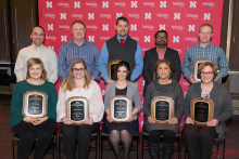 Holling Awards for teaching excellence