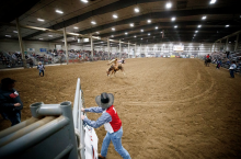 Husker rodeo team competes in national finals